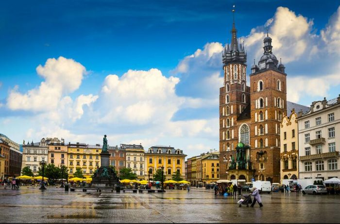 The market in Krakow