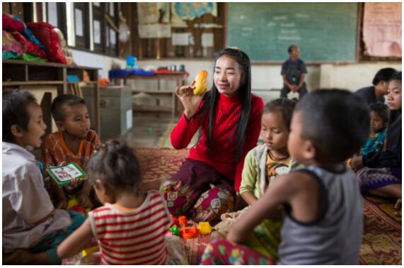 Children Education in Laos