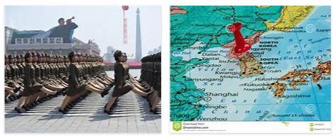 North Korea Geography