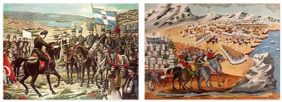 Greece History - the Uprising of 1821 and the Balkan Wars